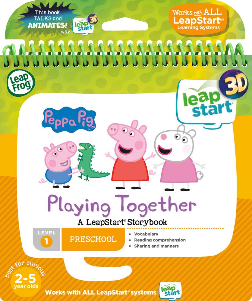 LeapFrog LeapStart 3D Peppa The Pig Book | Language Arts / Reading