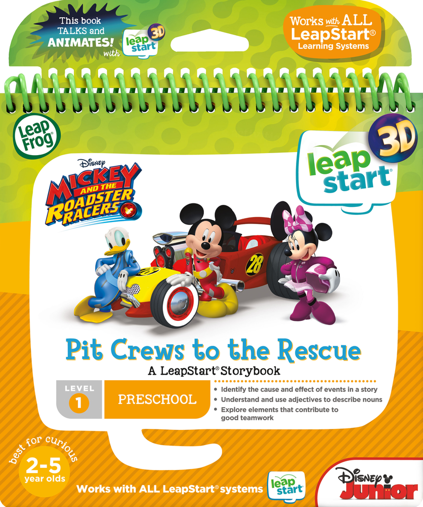 LeapFrog LeapStart 3D Mickey and the Roadster Racers | Language Arts / Reading