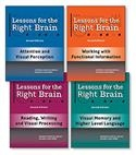Lessons for the Right Brain-Second Edition (Set of 4) | Special Education