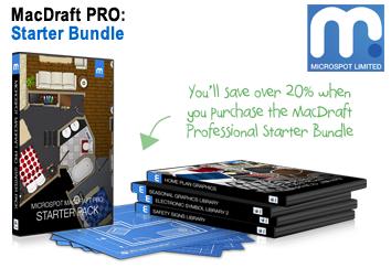 MacDraft Pro Starter Bundle