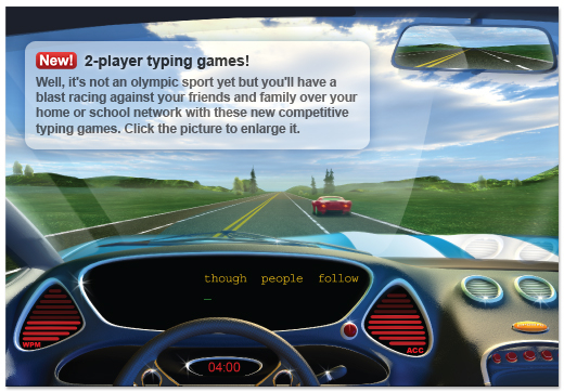 Car Fast Typing Games