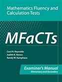 MFaCTs Examiner's Manual | Special Education