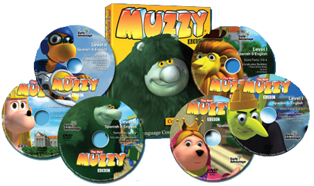 MUZZY Library Edition DVD Packs | ELL