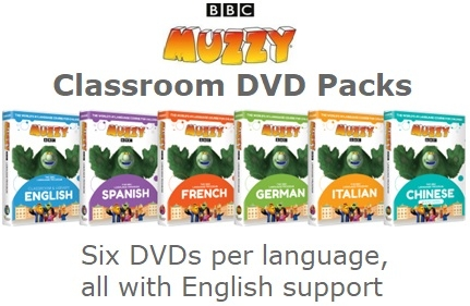 MUZZY Classroom DVD Packs | Muzzy Club
