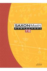 Saxon Math 7/6 Homeschool Set/Box | Math