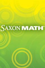 Saxon Math 6 Year Online Student Edition with Destination Math Courses 1-3   Math