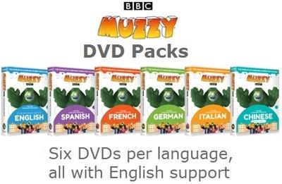 MUZZY Library Edition DVD Packs | MUZZY Club
