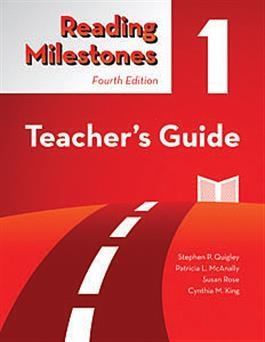 Reading Milestones Fourth Edition, Level 1 (Red) Teacher's Guide | Special Education
