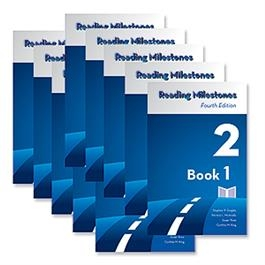 Reading Milestones Fourth Edition, Level 2 (Blue) Reader Package | Special Education
