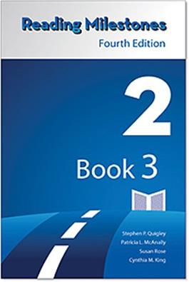 Reading Milestones Fourth Edition, Level 2 (Blue) Reader 3 | Special Education