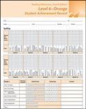 Reading Milestones–Fourth Edition, Level 6 (Orange) Student Achievement Record   Special Education