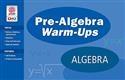PRE-ALG WARM UPS-ALGEBRA   Special Education