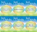 JUST FOR ADULTS 6-BOOK SET | Special Education
