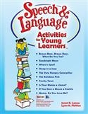 SPEECH ACTIVITIES YOUNG LEARNERS | Special Education