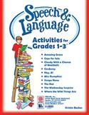 SPEECH ACTIVITIES GRADES 1 - 3 | Special Education