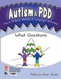 AUTISM LANGUAGE ACTIVITIES WHAT | Special Education