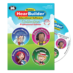 HearBuilder on CD   Special Education