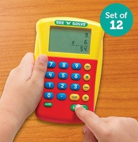 See N Solve Visual Calculator Class Pack 12 units | Teacher Tools