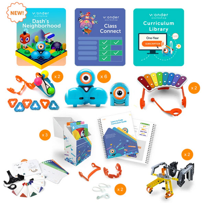K–5 Classroom Pack with Class Connect | Wonder Workshop