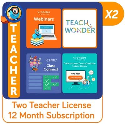 Class Connect Subscription School Success Pack | Wonder Workshop