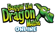 Baggin the Dragon Math Online | Keyboarding / Typing Instruction