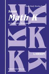 Saxon Math K Homeschool Student's Meeting Book 1st Edition | Math