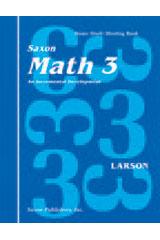 Saxon Math 3 Homeschool Student's Meeting Book 1st Edition | Math