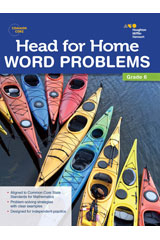 Head For Home Word Problems Workbook Grade 6 | Language Arts / Reading