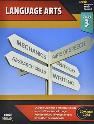 Steck-Vaughn Core Skills Language Arts Workbook Grade 3 | Language Arts / Reading