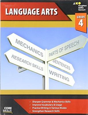 Steck-Vaughn Core Skills Language Arts Workbook Grade 4 | Language Arts / Reading