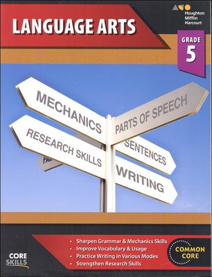 Steck-Vaughn Core Skills Language Arts Workbook Grade 5 | Language Arts / Reading