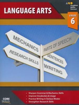 Steck-Vaughn Core Skills Language Arts Workbook Grade 6 | Language Arts / Reading