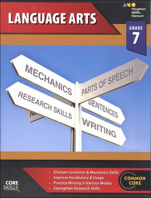 Steck-Vaughn Core Skills Language Arts Workbook Grade 7   Language Arts / Reading