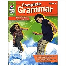 Complete Grammar Reproducible Grade 6 | Language Arts / Reading