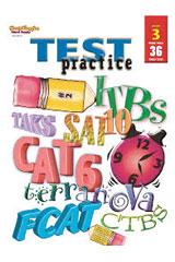 Test Practice Reproducible Grade 3 | Language Arts / Reading