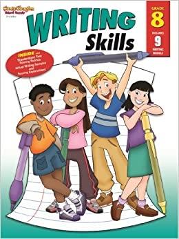 Writing Skills Reproducible Grade 8 | Language Arts / Reading