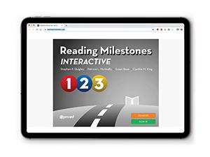 RMI Reading Milestones Interactive, Level 1-3 | Special Education