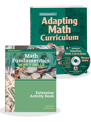 Money Skills: Adapting Math Curriculum with Extension Activity Book | Special Education