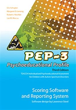 PEP-3 Scoring Software and Reporting System | Special Education