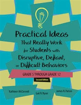 Practical Ideas That Really Work for Students with Disruptive Defiant or Diffi | Special Education
