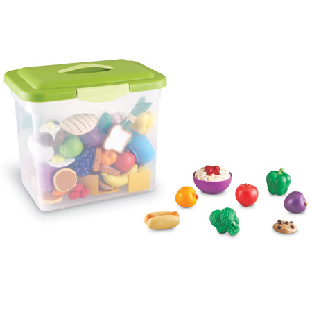 New Sprouts Classroom Play Food Set | Learning Resources