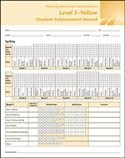 Reading Milestones-Fourth Edition, Level 3 (Yellow) Student Achievement Record   Special Education