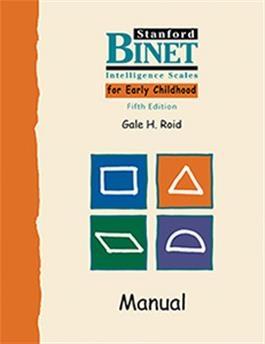 SB5 EARLY Examiner's Manual | Special Education