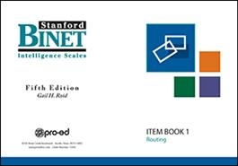 SB5 Item Book 1 (Routing Subtests) | Special Education