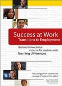 Success at Work: Transitions to Employment DVD with Discussion Guide | Special Education