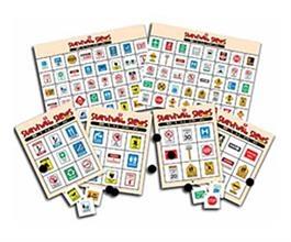 Survival Signs Bingo Combo (Both Indoor and Outdoor)   Special Education