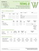 TEWL-3 Administration/Record Booklet Form A (pack of 10) | Special Education