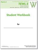 TEWL-3 Student Workbook Form A (pack of 10) | Special Education