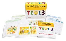 TEWL-3: Test of Early Written Language-Third Edition, Complete Kit | Special Education