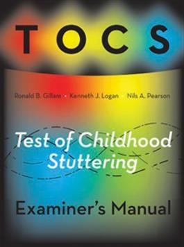 TOCS Examiner's Manual | Special Education